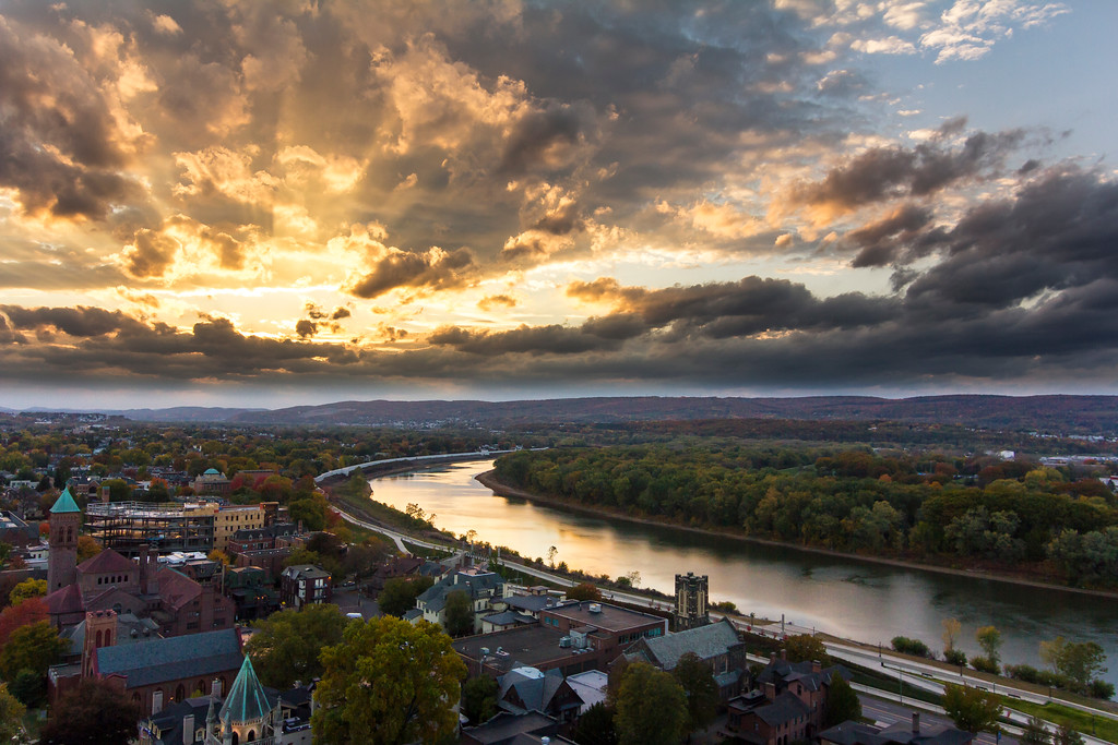 The Susquehanna from Wilkes-Barre